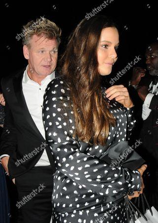 Gordon Ramsay and daughter Holly Ramsay
