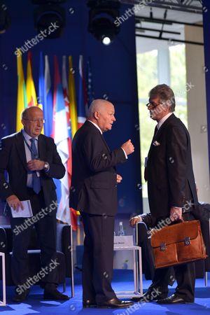 Viktor Yushchenko, Andrius Kubilius and Jan Krzysztof Bielecki