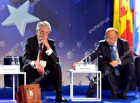 Viktor Yushchenko and Andrius Kubilius