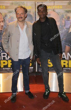 Denis Podalydes and Abdoulaye Diallo