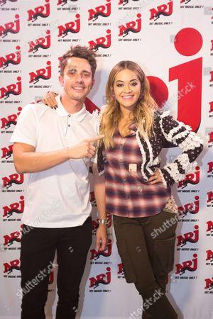Stock Image of Guillaume Pley and Rita Ora