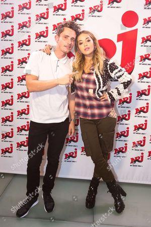 Editorial photo of Rita Ora visits Radio 2.0, Paris, France - 04 Sep 2017