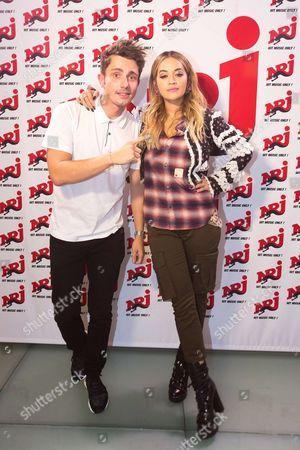Guillaume Pley and Rita Ora