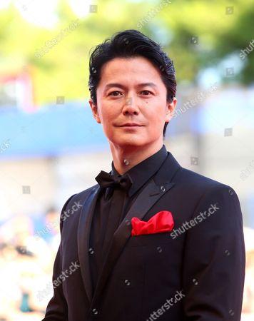 Stock Image of Masaharu Fukuyama