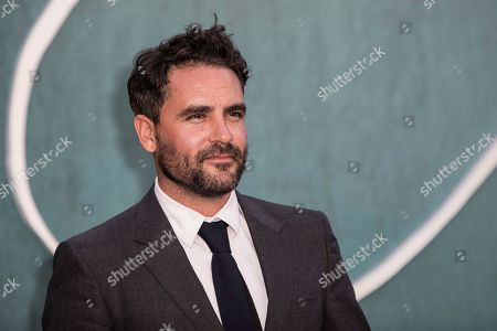 Levison Wood poses for photographers upon arrival at the premiere of the film Mother'', in London