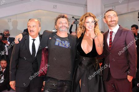Carlo Buccirosso, Matteo Manetti, Claudia Gerini, Antonio Manetti