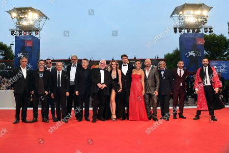 Editorial picture of 'Ammore e malavita' premiere, 74th Venice Film Festival, Italy - 06 Sep 2017