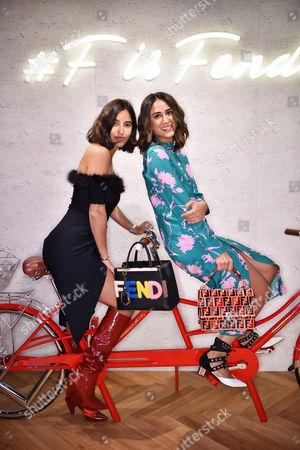 Stock Photo of Bettina Looney and Soraya Bakhtiar