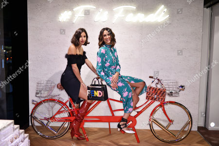 Stock Image of Bettina Looney and Soraya Bakhtiar