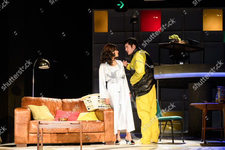 Editorial image of 'The Knowledge' play, Charing Cross Theatre, London, UK - 06 Sep 2017