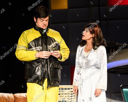 James Alexandrou (Gordon), Celine Abrahams (Brenda)