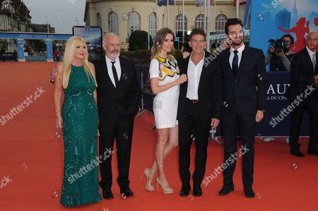 Stock Picture of Monika Bacardi, Michael Radford, Nicole Kimpel, Antonio Banderas and Andrea Iervolino