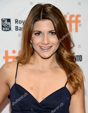 Elise Bauman attends the TIFF Soiree, an annual fundraiser and celebratory kick-off for the 2017 Toronto International Film Festival, at the TIFF Bell Lightbox, in Toronto