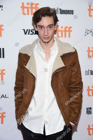 Theodore Pellerin attends the TIFF Soiree, an annual fundraiser and celebratory kick-off for the 2017 Toronto International Film Festival, at the TIFF Bell Lightbox, in Toronto