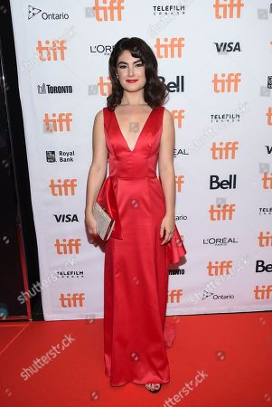 Actress Katie Boland attends the TIFF Soiree, an annual fundraiser and celebratory kick-off for the 2017 Toronto International Film Festival, at the TIFF Bell Lightbox, in Toronto