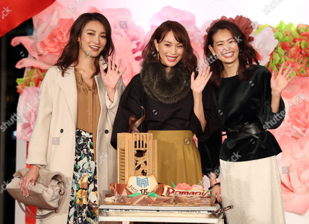 Satoumi, Yuri Ebihara and Midori Kuzuoka