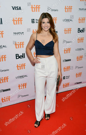 Actress Elise Bauman attends the TIFF Soiree, an annual fundraiser and celebratory kick-off for the 2017 Toronto International Film Festival, at the TIFF Bell Lightbox, in Toronto