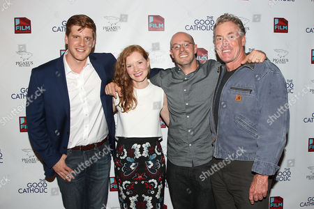 Zachary Spicer, Wrenn Schmidt, Paul Shoulberg (Writer, Director) and John C. McGinley