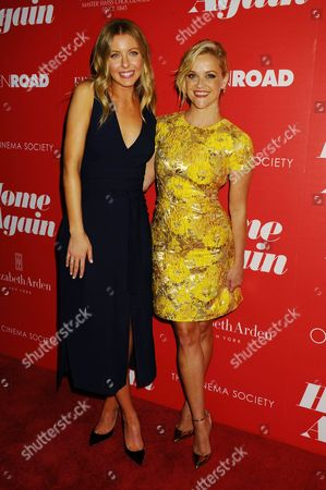 Hallie Meyers-Shyer and Reese Witherspoon