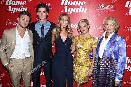 Jon Rudnitsky, Pico Alexander, Hallie Meyers-Shyer, Reese Witherspoon and Candice Bergen
