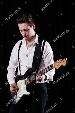 Bath United Kingdom - July 13: Portrait Of English Blues Rock Guitarist Laurence Jones Photographed In Bath On July 11