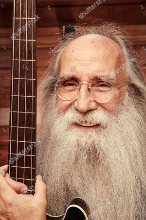 London United Kingdom - August 16: Portrait Of American Musician Leland Sklar Photographed At The Hospital Club In London On April 21 2016. Sklar Is Best Known As A Bassist And Session Musician Recording And Performing With Artists Such As Dolly Parton James Taylor And Phil Collins