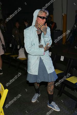 Chris Lavish attends the VFILES Runway Show at the Barclays Center on in Brooklyn, NY