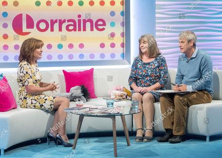 Lorraine Kelly, Julia Donaldson and Axel Scheffler