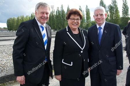 v.li. Karl Freller, Barbara Stamm, Josef Schuster