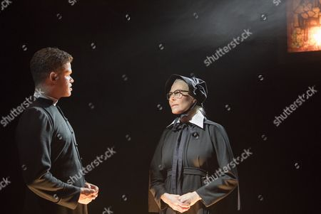 Editorial image of 'Doubt, A Parable' Play performed at the Southwark Playhouse, London, UK, 07 Sep 2017