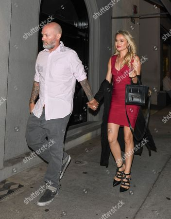 Editorial image of Fred Durst and Kseniya Beryazina out and about, Los Angeles, USA - 06 Sep 2017