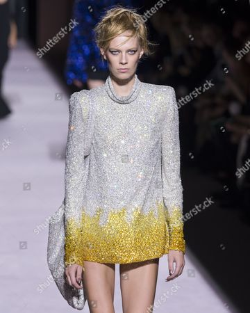 Lexi Boling on the catwalk