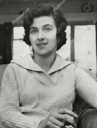 Stock Image of Brenda Boyce Daughter Of Herbert Pennells Who Headed The Panel Which Selected Spy William John Vassall For His Job In Moscow And Was Criticised In The Vassall Tribunal Report. Box 723 908121648 A.jpg.