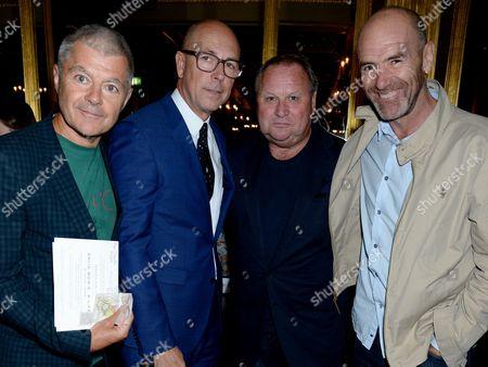 Alan Edwards, Dylan Jones, Gary Farrow and guest