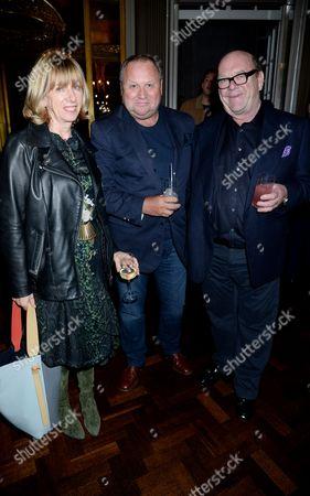 Kathy Gilfillan, Gary Farrow and Paul McGuinness
