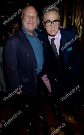 Harvey Goldsmith and Peter York