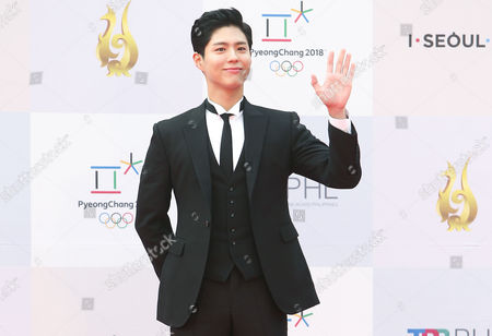 Editorial picture of Drama Awards 2017 in Seoul, Korea - 07 Sep 2017