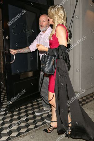 Editorial photo of Fred Durst and Kseniya Beryazina out and about, Los Angeles, USA - 06 Sep 2017