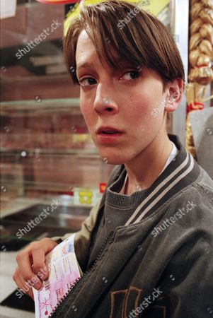 Ep 2097 Thursday 11th July 1996 Having been threatened by Marcus and his gang, Scott is forced to steal from the post office, but all he can find is Betty's pension book - With Scott Windsor, as played by Toby Cockerell.