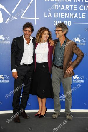 Valeria Golino, Silvio Soldini, Adriano Giannini