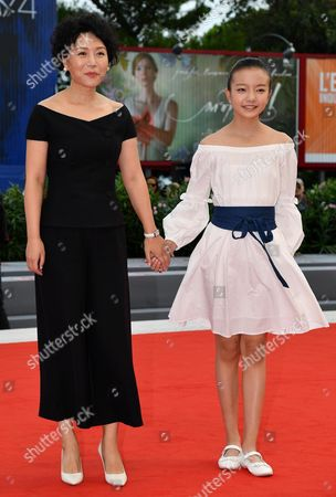 Editorial picture of Jia Nian Hua' (Angels wear white) - Premiere - Venice Film Festival 2017, Italy - 07 Sep 2017