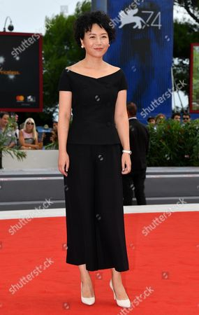 Editorial image of Jia Nian Hua' (Angels wear white) - Premiere - Venice Film Festival 2017, Italy - 07 Sep 2017