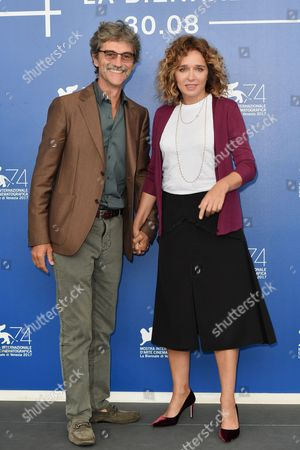 Silvio Soldini and Valeria Golino