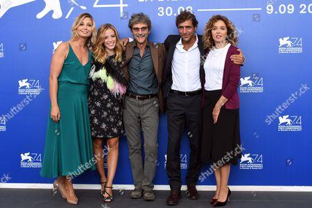 Silvio Soldini with Valeria Golino, Adriano Giannini, Laura Adriani, Anna Ferzetti