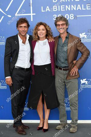 Silvio Soldini, Valeria Golino and Adriano Giannini
