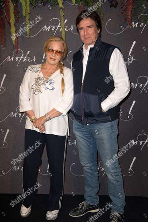Sylvie Vartan and Tony Scotti