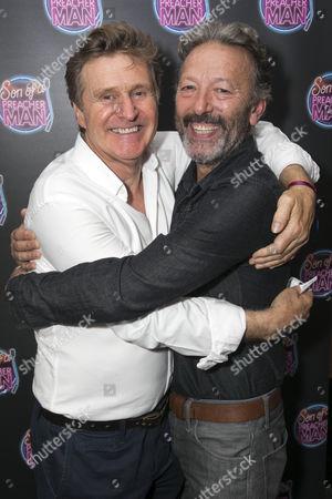 Michael Howe (Paul) and Ian Reddington (Simon)