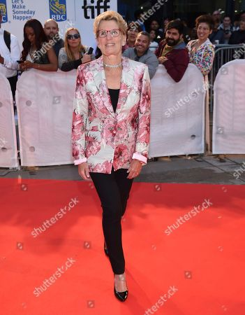 "Ontario Premier Kathleen Wynne attends the opening night gala for ""Borg/McEnroe"" on day 1 of the Toronto International Film Festival at Roy Thomson Hall, in Toronto"
