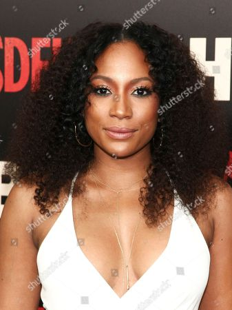 """Natalie Paul attends the premiere of the HBO Original Series """"The Deuce"""" at the SVA Theatre, in New York"""