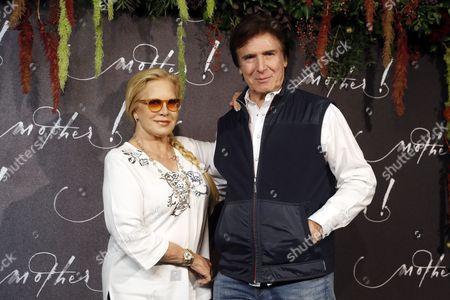 Stock Image of Sylvie Vartan and Tony Scotti